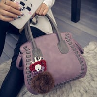 Winter Crown Korean Tote Bag Simple Design Bags Shoulder Bags [6582854919]
