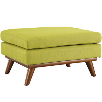 Engage Fabric Ottoman Wheatgrass