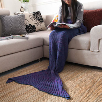 Winter Women Mermaid air conditioner Blanket a13419