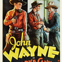 John Wayne Paradise Canyon Vintage Movie Poster