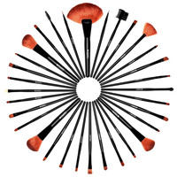 32 PC Premium Pro Makeup Essentials Brush Set with Travel Pouch