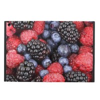 Raspberries, Blackberries & Blue Berries iPad Air Cover