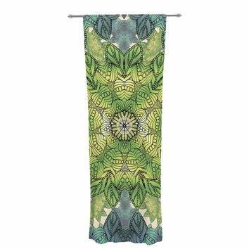 "Art Love Passion ""Celtic Mandala"" Decorative Sheer Curtain"