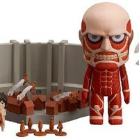 Good Smile Attack on Titan: Colossal Titan Nendoroid and Playset Action Figure Busts
