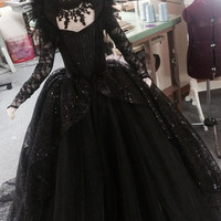 LIMITED EDITION Evil Queen Costume Vampire Ball Gown