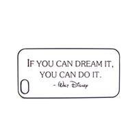 Walt Disney Quote Phone Case