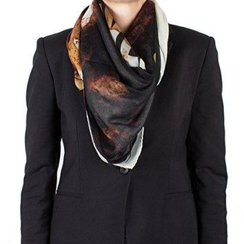 """Givenchy Women's """"Givenchy Paris"""" Cashmere Scarf Large"""