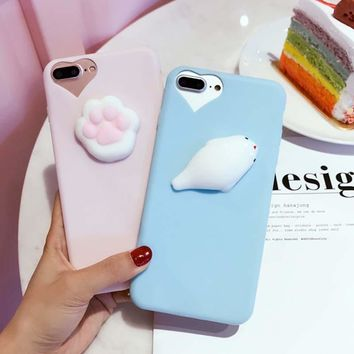 Cute 3D Cartoon Animals Phone Cases