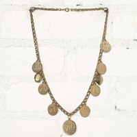 Free People Vintage Coin Necklace