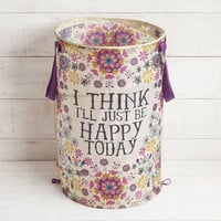 Be Happy Pop Up Laundry Hamper