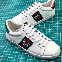 Gucci Ace Embroidered Low Top Sneakers Style 6 - Best Online Sale