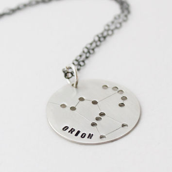 Orion Constellation Necklace Astrological Zodiac by VivaRevival
