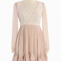 Alluring Daydream Lace Dress