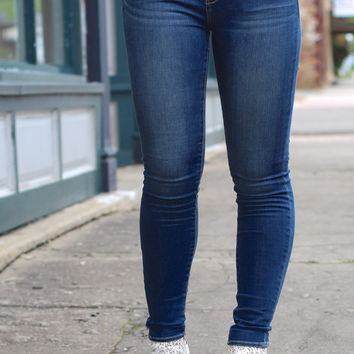Articles of Society: Mya Skinny Jean {Worn Blue}
