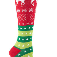 Sock It to Me | Tacky Holiday Knee Socks