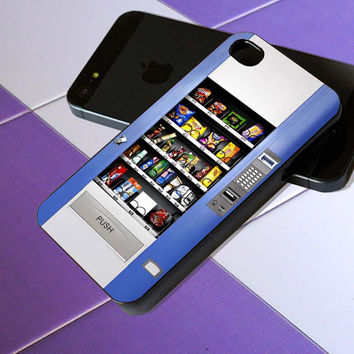 Snack Vending Machine - iPhone 4 / iPhone 4S / iPhone 5 / Samsung S2 / Samsung S3 / Samsung S4 Case Cover