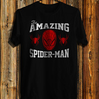The Amazing Spiderman Men's T-shirt, Spiderman Shirt Inspired Marvel T-shirt, Awesome Shirt