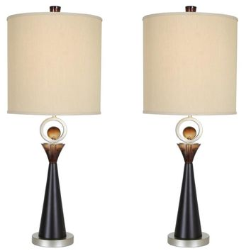 "Van Teal 130772PR Occasion 36"" Table Lamps (Set of 2)"