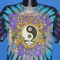 90s Grateful Dead Chinese New Year Tie Dye 1991 t-shirt Large