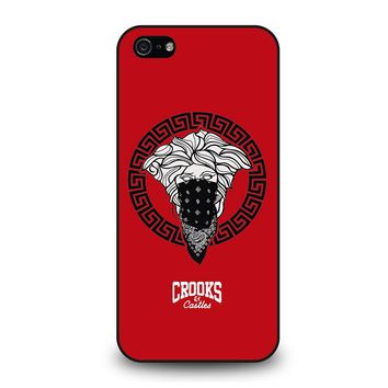CROOK AND CASTLES BANDANA RED iPhone 5 / 5S / SE Case