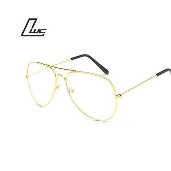Top Quality Sunglasses Women Men Aviation Sunglasses Uv400 Feminin Brand Designer New Glass Oculos Vintage Sun Glasses Female