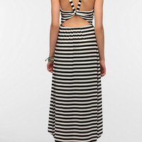 Urban Outfitters - Pins And Needles Knit Open Back High/Low Maxi Dress