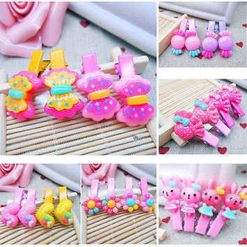 Trendy Baby Girls Hair Clip Hairpins Kids Fashion Accessories Gift AJR AU