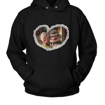 CREYP7V Carl And Ellie Romantic Up Hoodie Two Sided