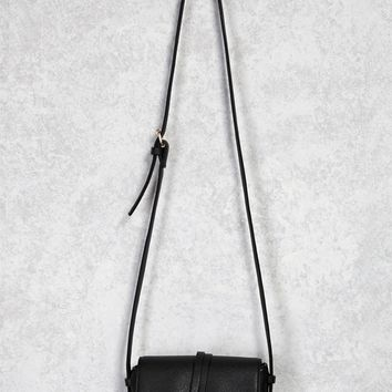 Small Faux Leather Crossbody