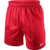 Nike Men's Jacquard Dri-FIT Soccer Shorts Challenge Red 419165