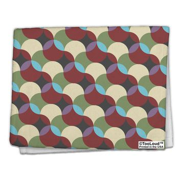 "Geometric Abstract AOP 11""x18"" Dish Fingertip Towel All Over Print by TooLoud"