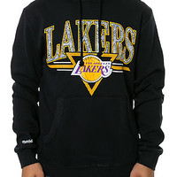 The LA Lakers Abstract Vibes Pullover Hoodie in Black