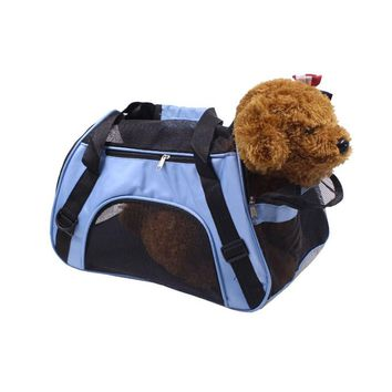 Outdoor Dog Carrier for Small Dogs Shoulder Bag Backpack Breathable Dog Carriers for Cats Chihuahua Animal Pet Accessories