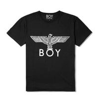 NEXT — BOY LONDON | Black/White BOY Eagle Men's T-Shirt