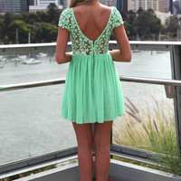 SPLENDED ANGEL DRESS , DRESSES, TOPS, BOTTOMS, JACKETS & JUMPERS, ACCESSORIES, 50% OFF SALE, PRE ORDER, NEW ARRIVALS, PLAYSUIT, COLOUR, GIFT VOUCHER,,Green,LACE Australia, Queensland, Brisbane