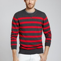 Kingston Rower - Red & Grey Stripe