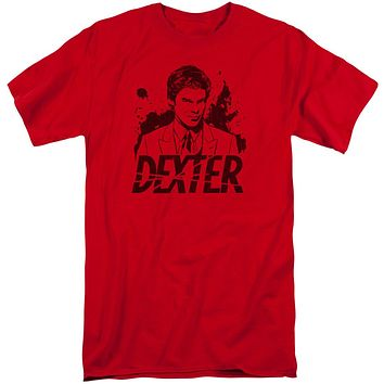 Dexter - Splatter Dex Short Sleeve Adult Tall