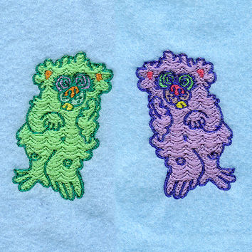 Kooky bear patch