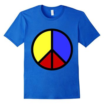 Colombia Peace firm Colombian Flag Symbool Peace T-shirt