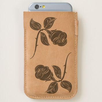beautiful roses iPhone 6/6S case