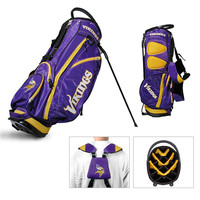 Minnesota Vikings NFL Stand Bag - 14 way Fairway