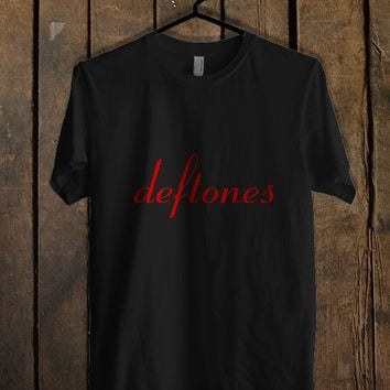 Deftones Logo T Shirt Mens T Shirt and Womens T Shirt *