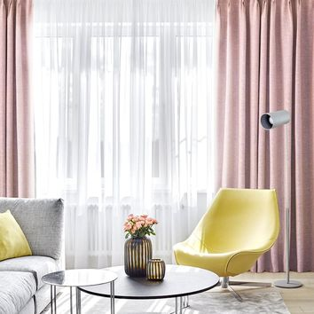 Drapes in Pink
