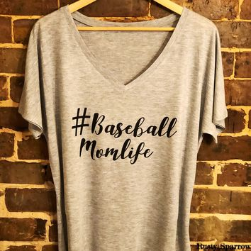 Baseball Mom Life Shirt