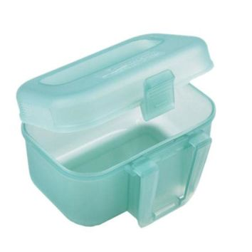 Outdoor Fishing Transparent Plastic Fishing Lure Bait Box Storage Organizer Container Case#W21