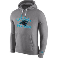 Carolina Panthers Nike Club Rewind Pullover Hoodie – Gray
