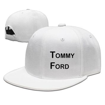 Commemorate Popular Actor Tommy Ford Logo Breathable Unisex Adult Womens Fitted Hats Mens Baseball Hats