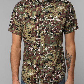 Urban Outfitters - Staple Pigeon Camo Button-Down Shirt