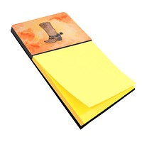 Cowboy Boot Watercolor Sticky Note Holder BB7371SN