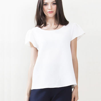 Maribel Textured Top